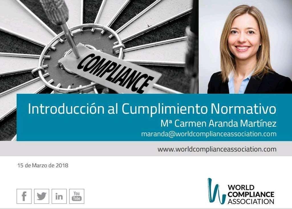 webinar cumplimiento normativo - compliance officer